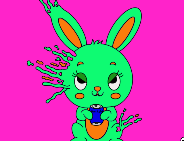 How to make money with NFTs. Yes, this bunny makes money.